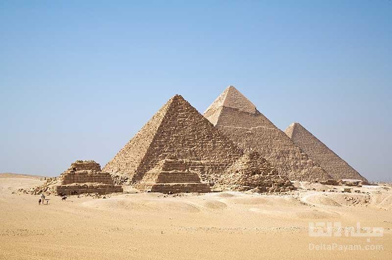 تالارهای پنهان در هرم بزرگ فرعون