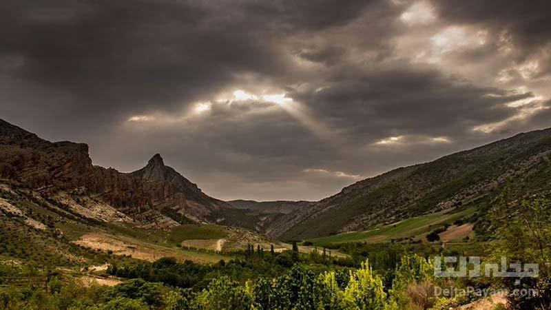 روستای درکش در خراسان شمالی