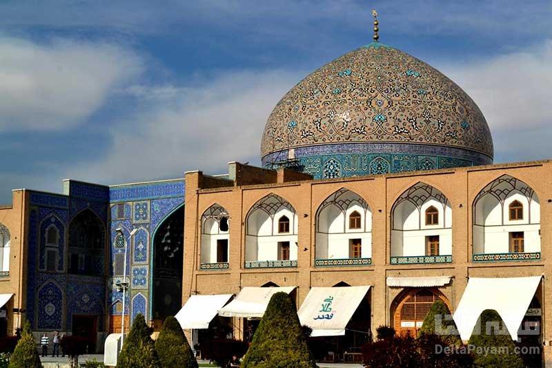 مسجد شیخ لطفالله توسط آندره گدار