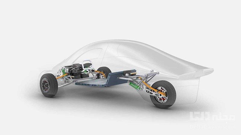 خودرو برقی خورشیدی اپرتا