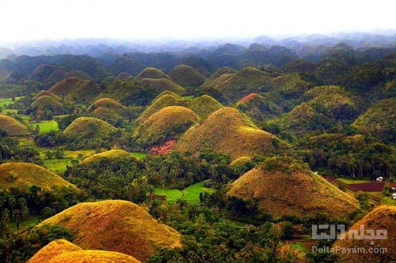 تپه های مخروطی شکل