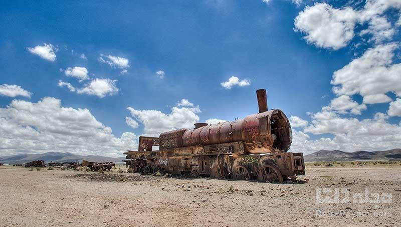 گورستان قطارها در بولیوی