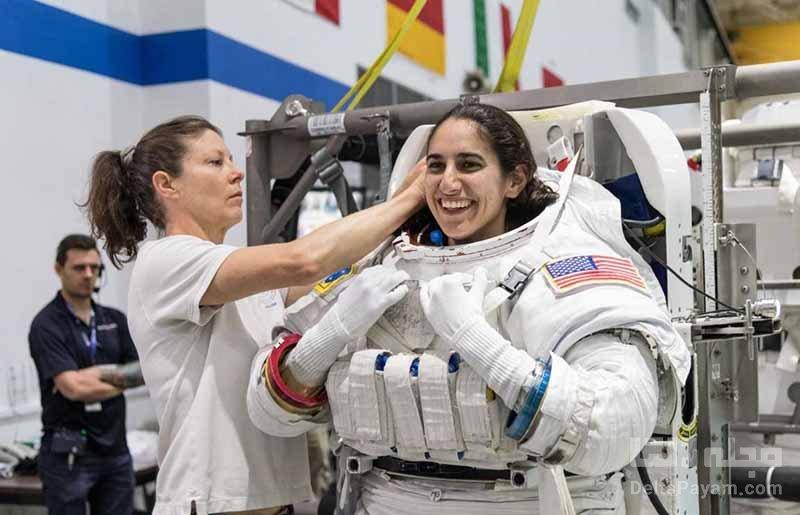 یاسمین مقبلی یکی از فضانوردان پروژه بازگشت به ماه