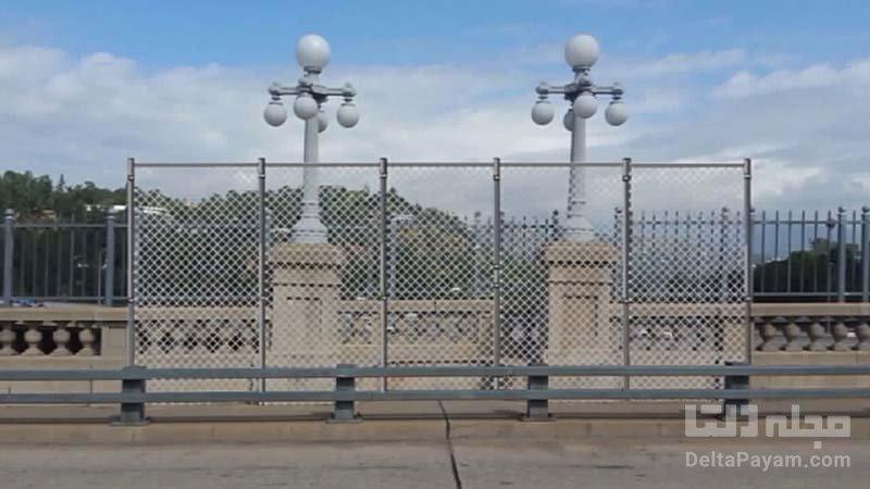 حصار و نرده پل خودکشی