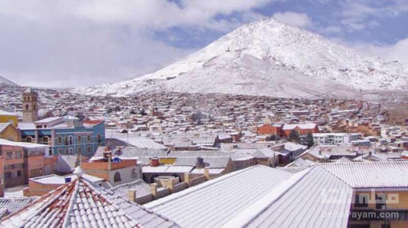 کوه سرو ریکو شهر پتسی