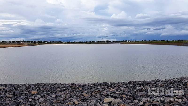 دریاچه جورج با سطح آب متغیر