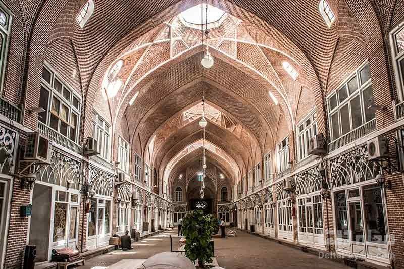 بزرگترین بازار سرپوشیده ایران