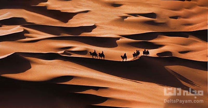 بیابان خشک چین