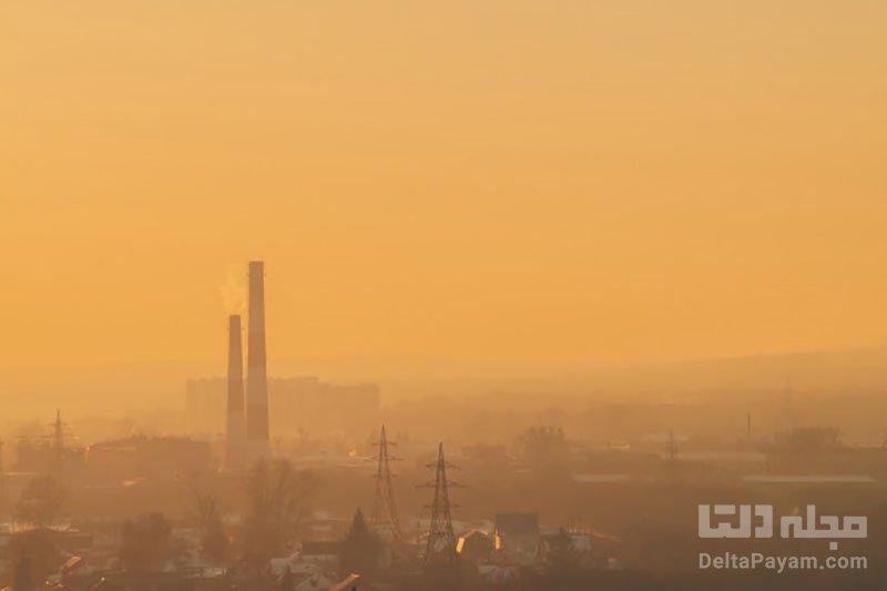 آلودگی هوا در هوای سرد