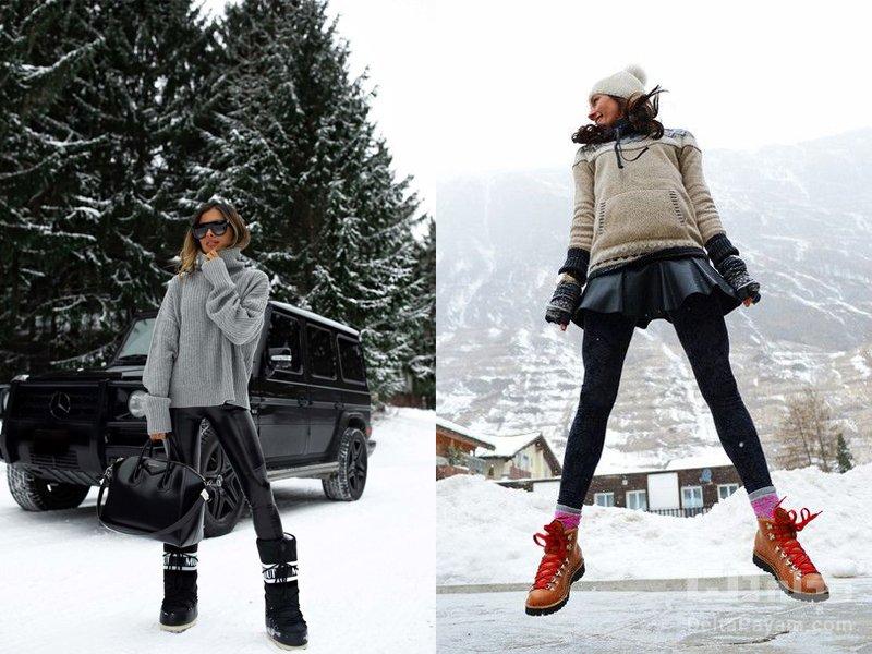 خرید کفش زمستانی زنانه کوهستانی
