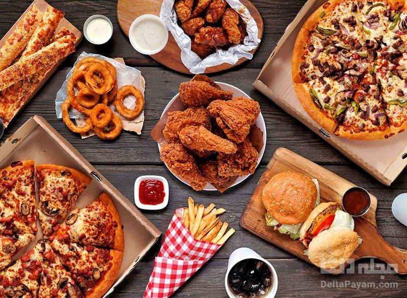 عوارض غذای چرب چاقی