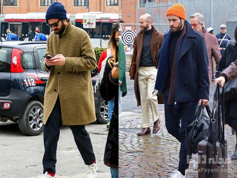 لباس زمستانی آقایان کت پشمی