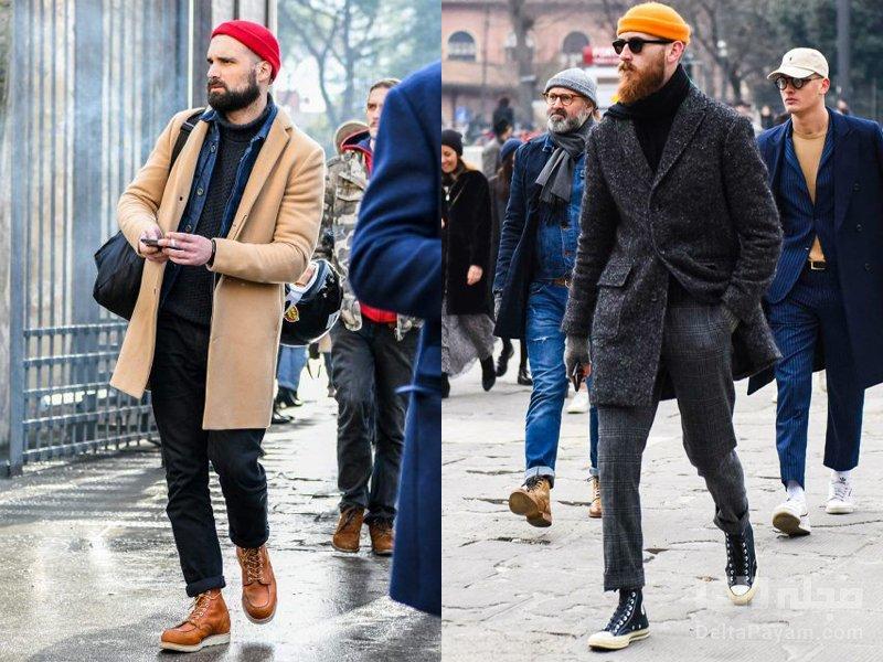 لباس زمستانی آقایان کلاه