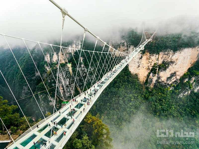 پل شیشه ای کوه تایهانگ