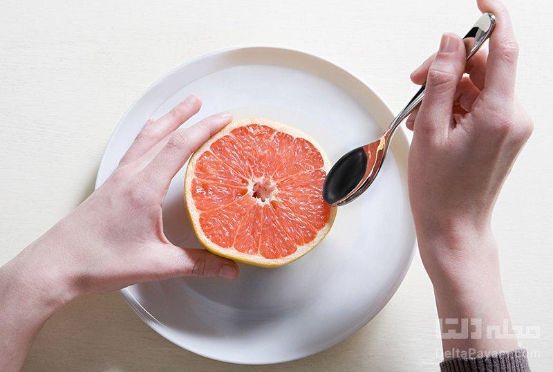 کاهش وزن با مصرف میوه ها گریپ فروت