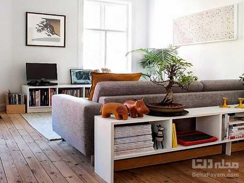 جدا کردن فضاهای خانه