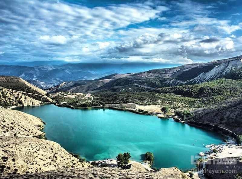 دریاچه ولشت در شهر چالوس