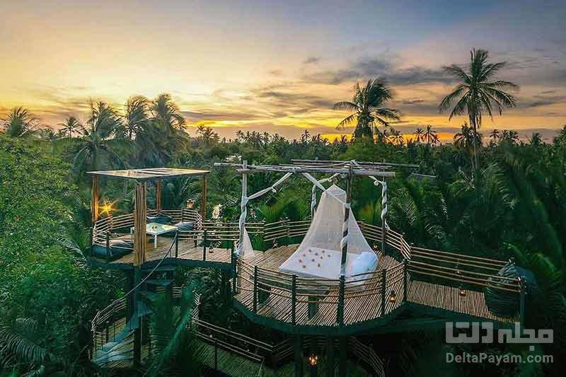 هتل بدون سقف در تایلند
