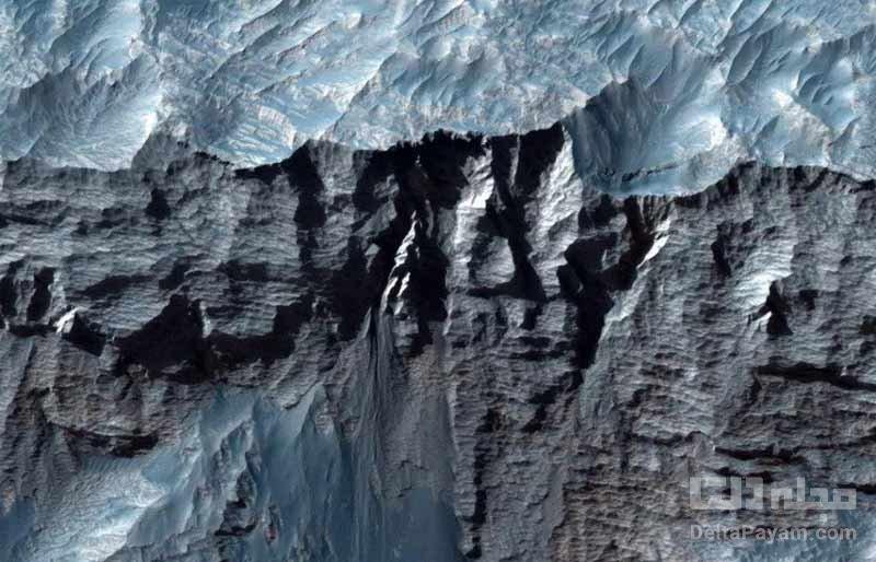 بزرگ ترین دره منظومه شمسی در مریخ
