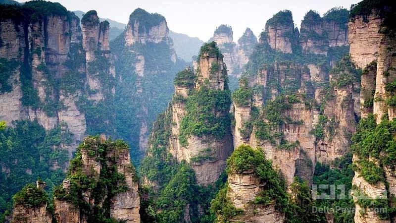 کوهستان تیانزی در چین