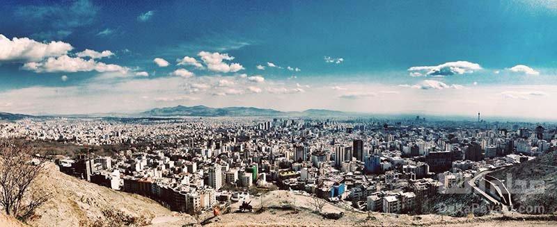 بازدید از بام تهران از تفریحات رایگان تهران