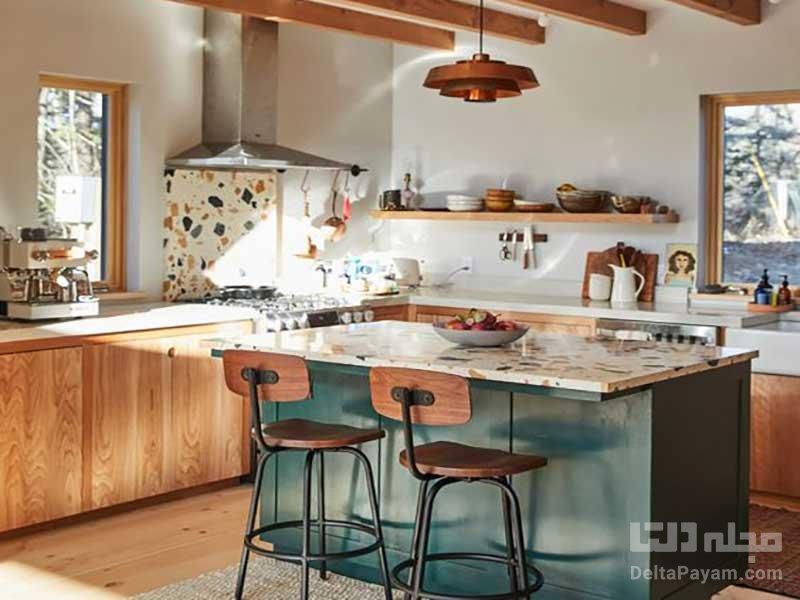 آشپزخانه مدل جزیرهای