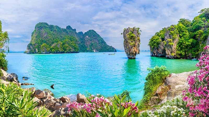 جزیره جیمز باند در تایلند