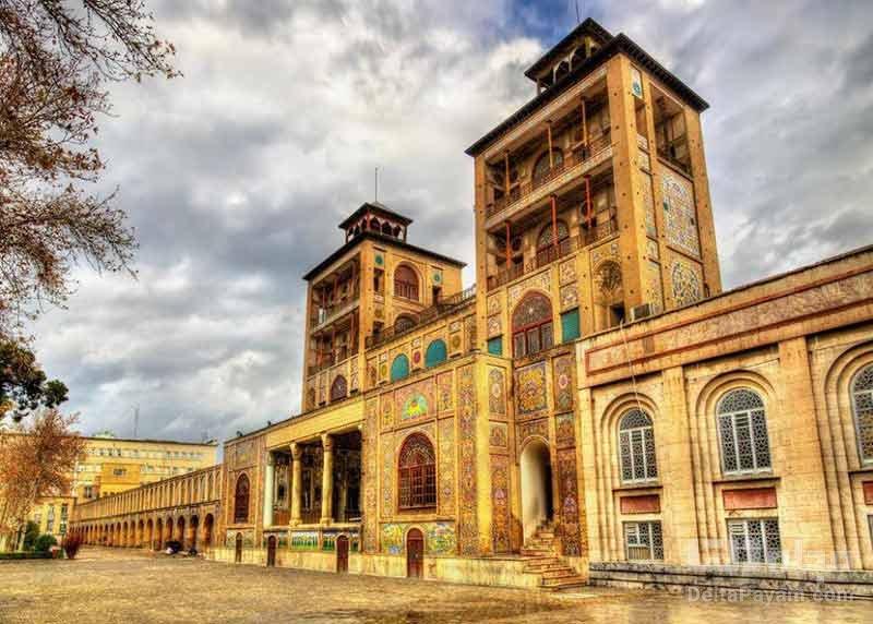 بازدید از کاخ گلستان تهرانگردی در زمستان
