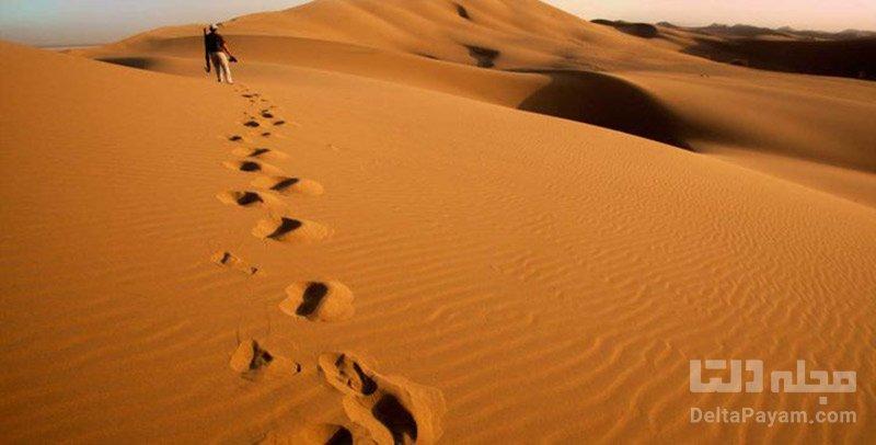 کویر قوم تپه در دل طبیعت تبریز