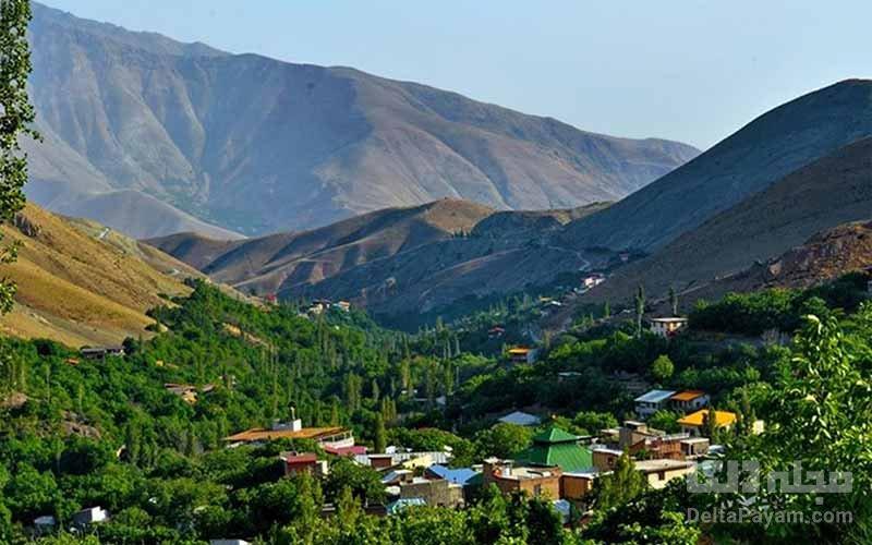 روستای آبنیک، سفر یک روزه اطراف تهران