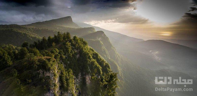 جنگل و روستای جهان نما