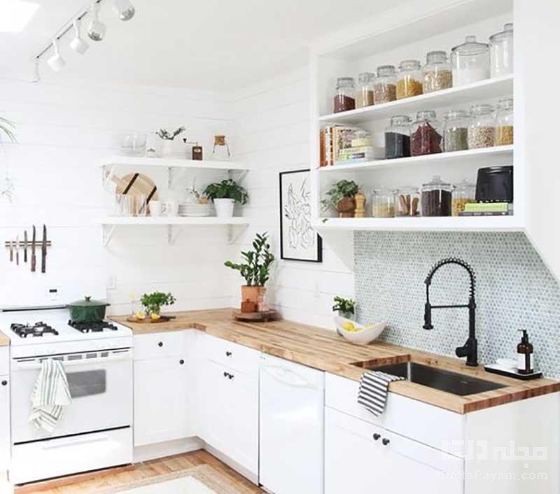 مشکلات آشپزخانه کوچک