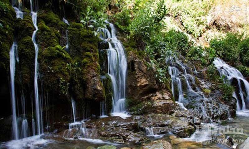 آبشارهای شهر چالوس