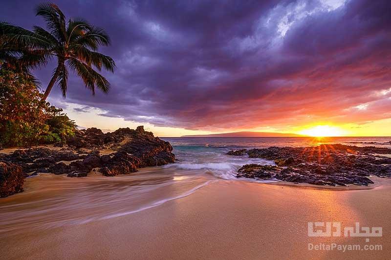 جزیره ماوی در آمریکا