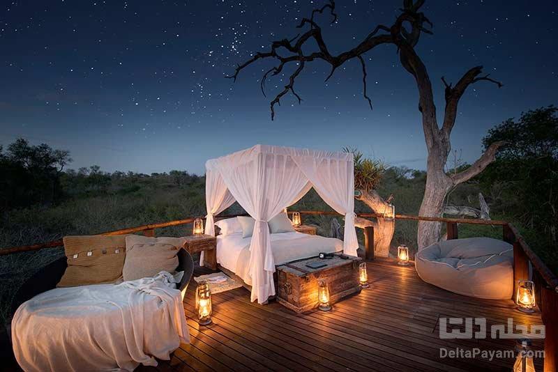 هتل بدون سقف در آفریقا