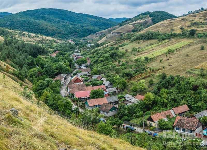 روستای ایبنتال در رومانی