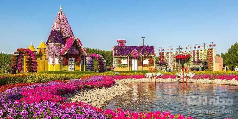 آشنایی با باغ گل معجزه دبی