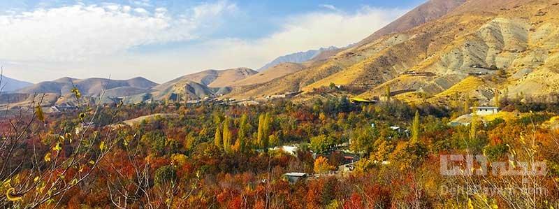 روستای افجه، سفر یک روزه اطراف تهران