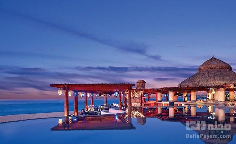 هتل بدون سقف در مکزیک