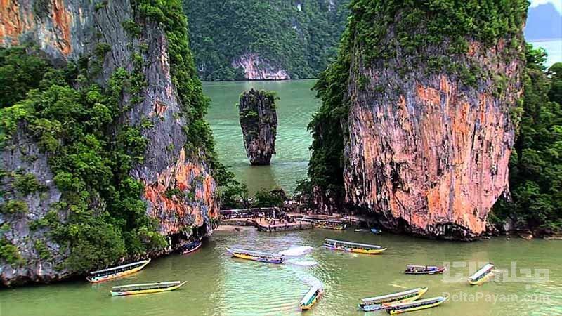 جزیره جیمز باند از زیباترین جزایر تایلند