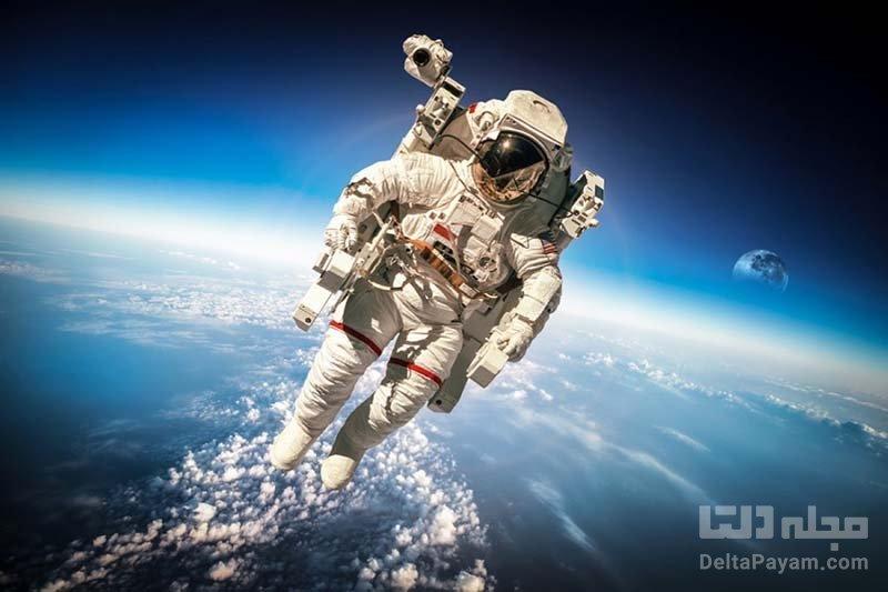 فضانوردان و نیروی جاذبه زمین