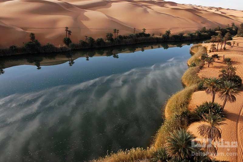 دریاچه های اوباری لیبی