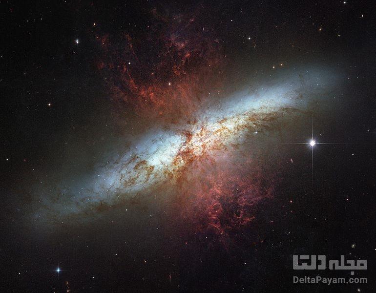 کهکشان سیگار در دب اکیر