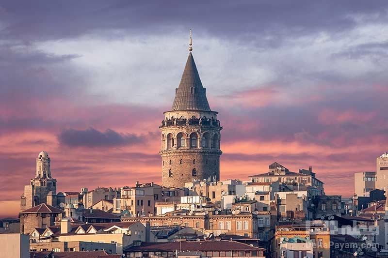 بازدید از برج گالاتا از تفریحات زمستانی استانبول
