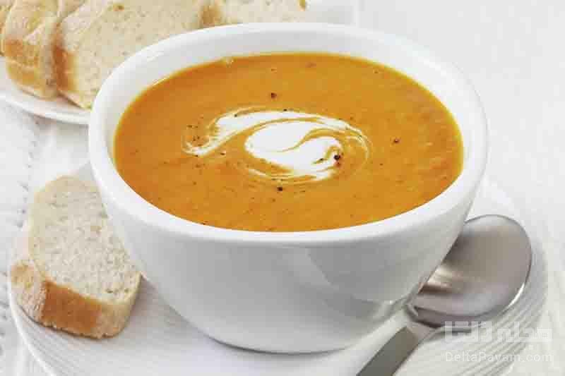 طرز تهیه سوپ زنجبیل و هویج