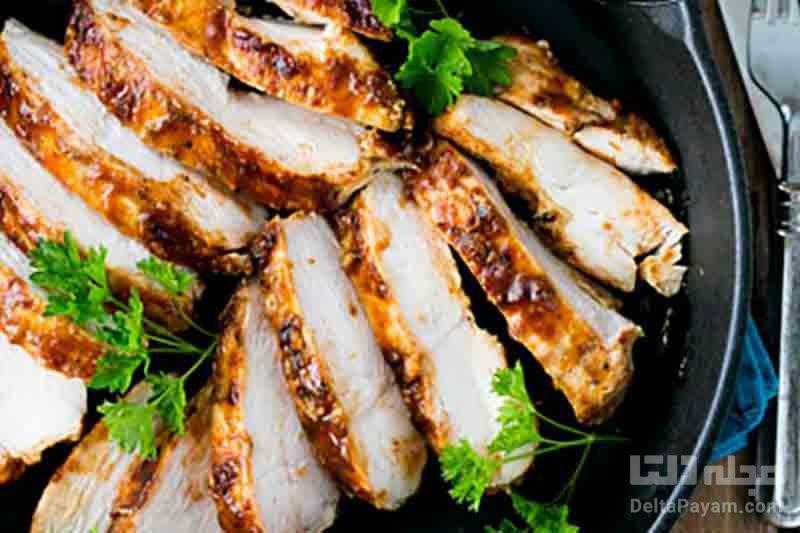 طرز تهیه مرغ کبابی در فر