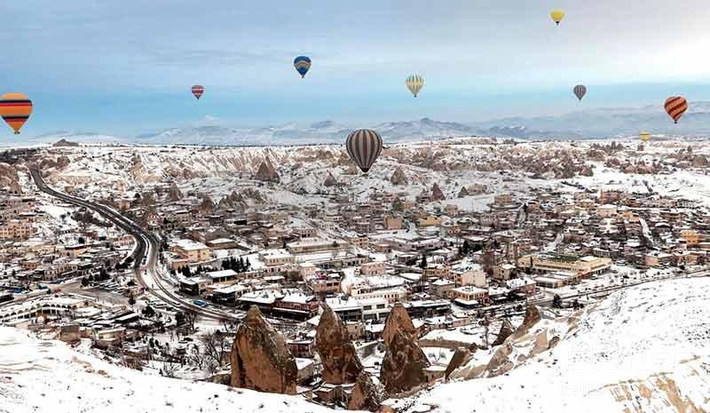 استانبول در زمستان،