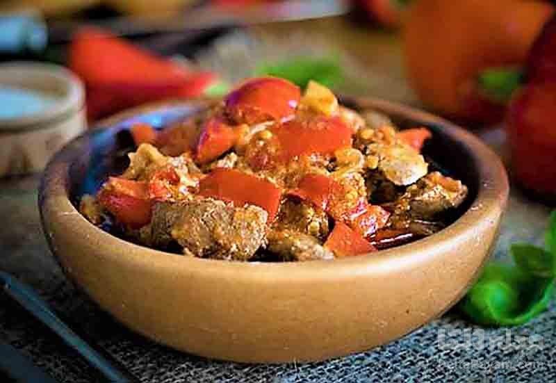 طرز تهیه خوراک جگر مرغ