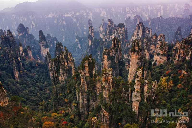 کوهستان تیانزی از عجایب چین