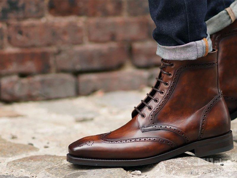 انواع کفش مردانه بالچهدار